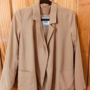 Urban Outfitters Oversized Tan Blazer